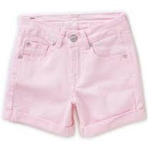 7FAM 7 For All Mankind Girls Cuffed Denim Shorts